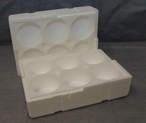 Honigglasverpackung für 6 Stück 500g Gläser