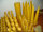 Bienenwachs Wabenkerze 190 x 30 Spitz