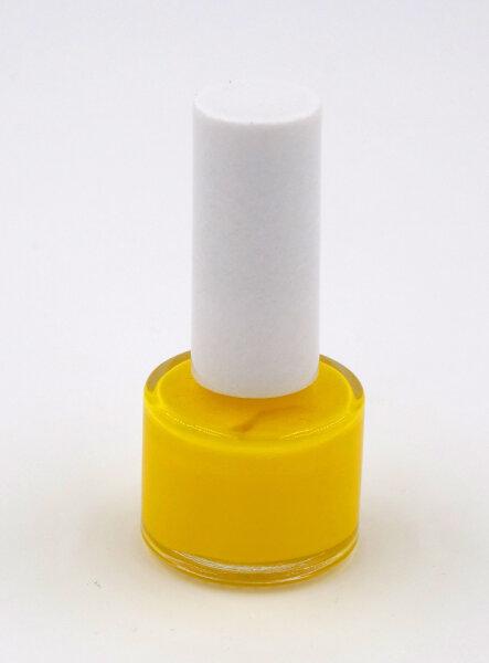 Flakon Zeichenlack für Bienenköniginnen Jahresfarbe Gelb