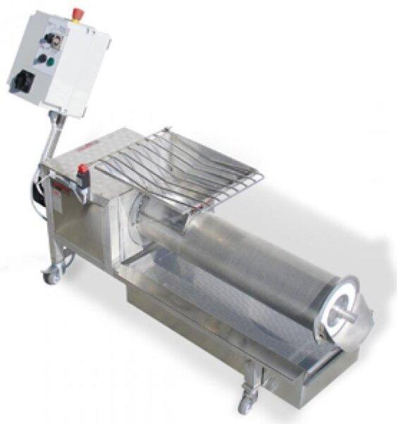 Entdeckelungs-Wachspresse mit Elektromotor Dreiphasig, Nylon Schnecke Ø180mm