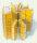Tangential- Radial Honigschleuder Jolly aus Edelstahl für 5 bis 15 Honigwaben mit Handantrieb