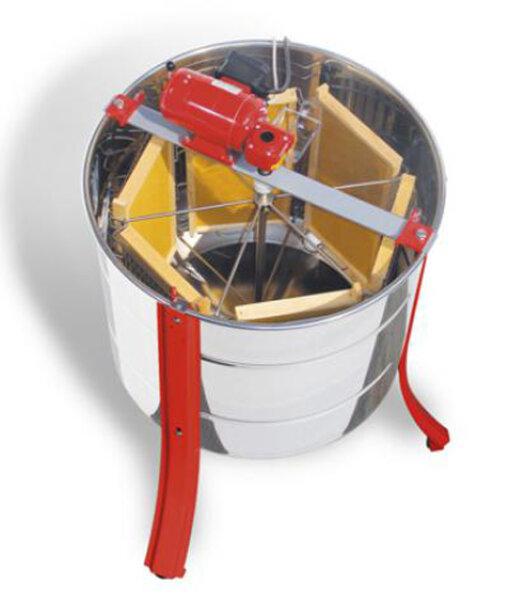 Tangentialschleuder für 6 Honigwaben DNM oder Langstroth mit Elektromotor