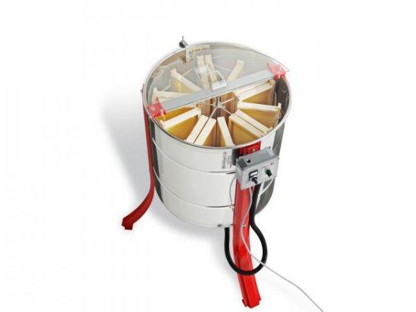 Tangential / Radial Honigschleuder Jolly für 5 Waben Tangential oder 15 Waben Radial, Unterliegenden Motor