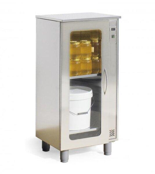Kleiner Wärme-Schrank, für Verflüssigung und/oder Flüssig halten des Honigs, 220V/1100W, Edelstahl