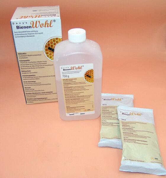 Danys Bienenwohl 1 Liter Tierarzeneimittel zur Varroabekämpfung im Bienenvolk