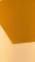Mittelwände 5,0mm Zellenmaß aus pestizidarmen Wachs