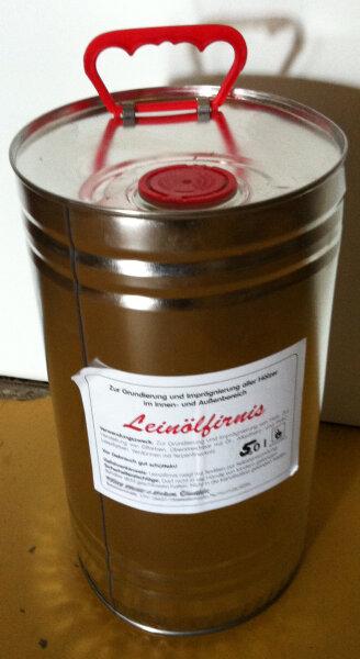 Leinölfirnis im 10 Liter Kanister