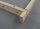 Mini Plus Rähmchen aus Lindenholz mit geraden Seiten