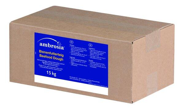 Ambrosia Bienenfutterteig 15kg Karton