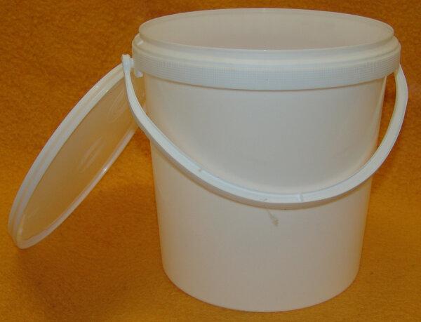 Hobbock 12,5kg Druckdeckeleimer 10 Liter aus Kunststoff für Lebensmittel