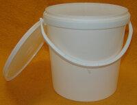 Hobbock 12,5kg Druckdeckeleimer 10 Liter aus Kunststoff...