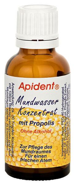 Apident Mundwasserkonz. mit Propolis, 30ml