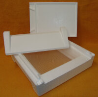 Segeberger Universalboden mit Metall-Gitterplatte ohne Flugbrett
