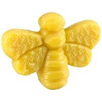 10 Stück Honigseife Biene a. 25g Pflanzliche Seife in Bienenform mit Shea-Butter